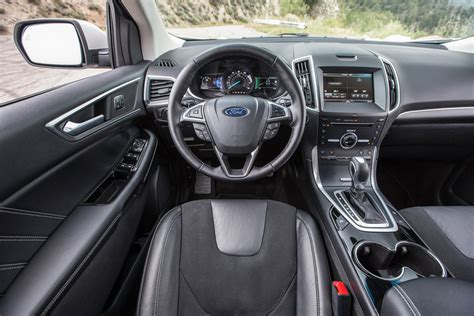 2015 Ford Edge Sport Interior by 2015 Ford Edge Sport Awd Test Review Motor Trend