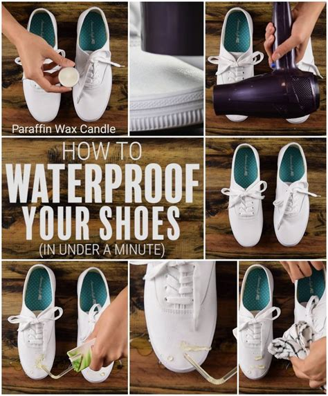 diy shoe cleaner diy how to make your shoes waterproof in a minute