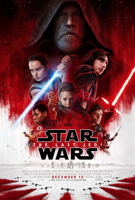 good movies star wars the last jedi by daisy ridley new star wars the last jedi poster arrives