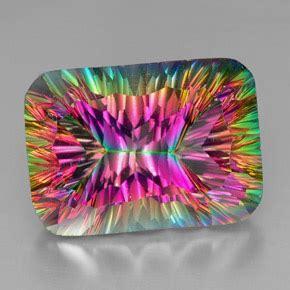 Multicolor Mystic Quartz 13 34ct 39 carat top rainbow mystic quartz gem from brazil