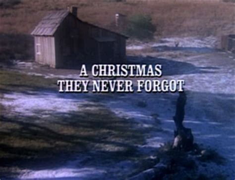 little house on the prairie christmas episodes episode 811 a christmas they never forgot little house wiki little house on the