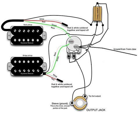 dual humbucker wiring diagrams seymour duncan wiring