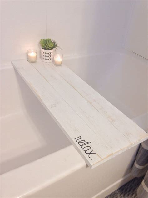 bathroom caddy ideas bath tub tray caddy bath tray bath caddy white rustic