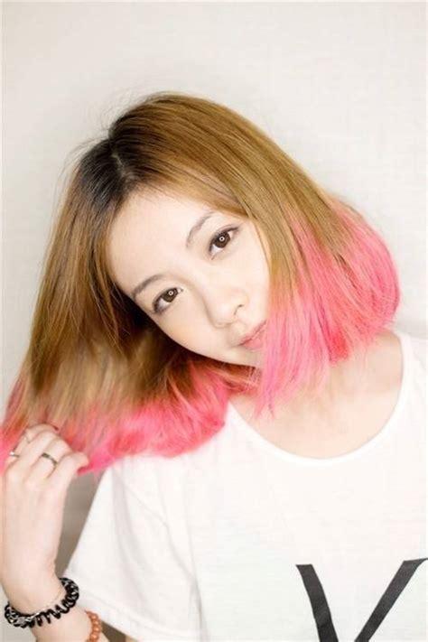tutorial rambut pendek dan tipis model rambut pendek bob korea yang cantik dan menawan