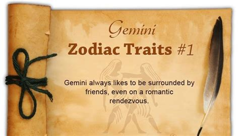 top 10 gemini personality traits