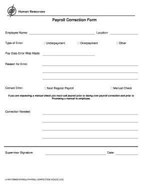 payroll correction form template irrevocable living trust pdf forms and templates