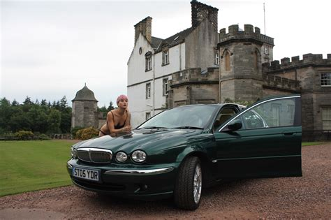 racing green file x type jaguar in racing green model casini