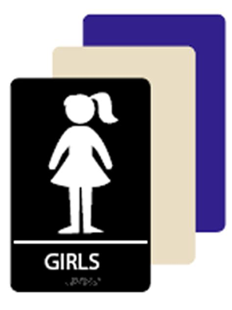 girls bathroom logo girls bathroom sign clipart best