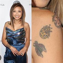 jeannie mai ladybug shoulder tattoo steal her style