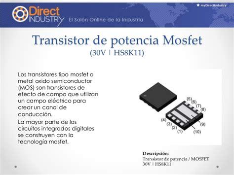 transistor mosfet slideshare transistores y compa 241 237 as