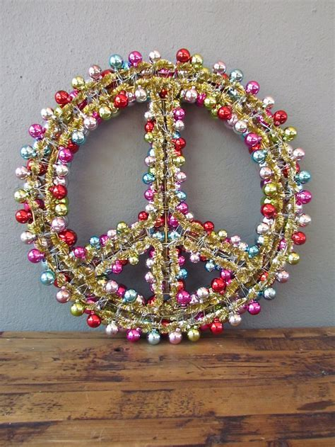 lighted peace sign wreath 1000 images about peace signs on pinterest peace sign