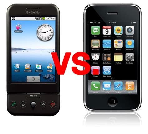 t mobile g1 showdown htc t mobile g1 vs iphone 3g wired
