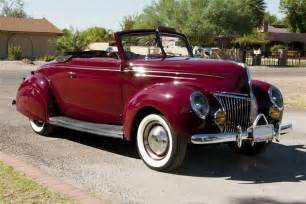Handcrafted Cars - 1939 ford deluxe custom convertible w rumbleseat 116189