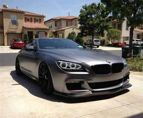 matte grey bmw bmw f12 6er coup 233 matte grey cars