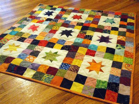 starry skies baby quilt star quilt patterns simple