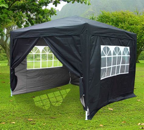 Enclosed Canopy Tent 10 X 10 Fully Enclosed Pop Up Tent Gazebo Canopy