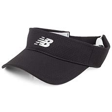 New Balance Performance Visor felt hat brush bristles from hats