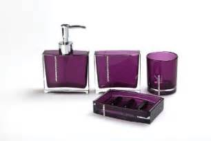 Bathroom Accessories Purple Purple Bathroom Accessories 7 Bath Decors