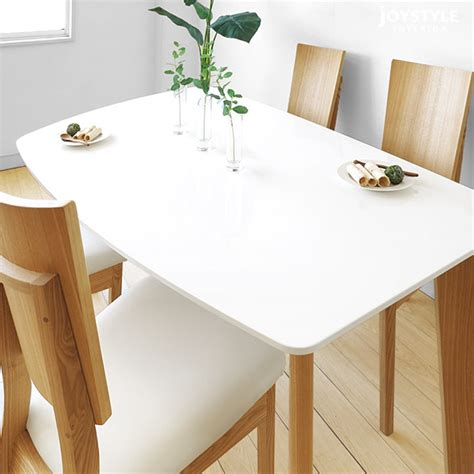 dining table leg placement joystyle interior rakuten global market width 140 cm