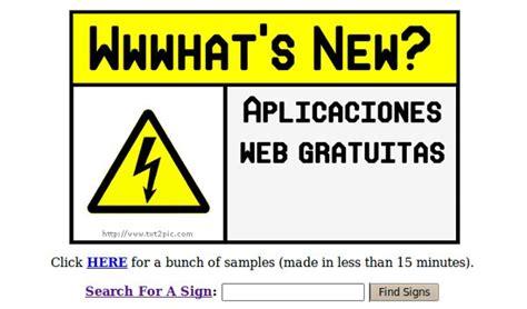 es una curiosa aplicacion que transforma cualquier texto en una chirolas aplicaciones web gratuitas en wwwhat s new