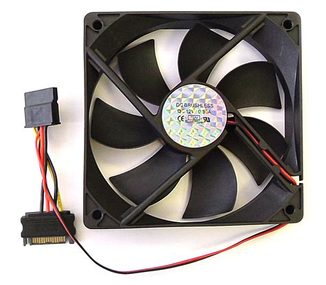 Fan 120 Casing Dazumba atx fan pc cooling fan sata power connections 120mm