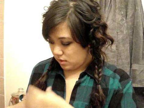 x3haha hairstyles fishtail braid pigtails