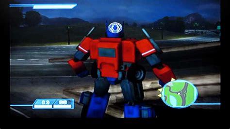 transformers  game  optimus prime jazz gameplay