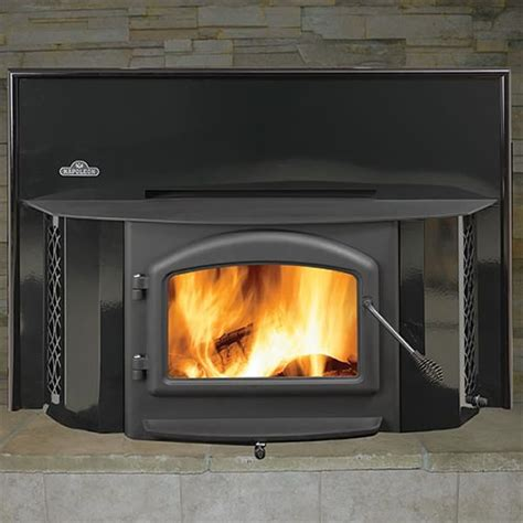Wood Burning Fireplace Insert Blower by New Napoleon 1402 Wood Fireplace Insert W Black Door