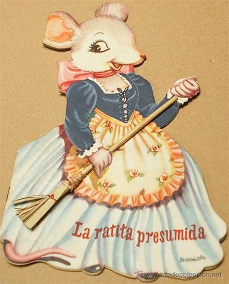 la ratita presumida troquelados cuento troquelado la ratita presumida ferrand comprar en todocoleccion 29238516