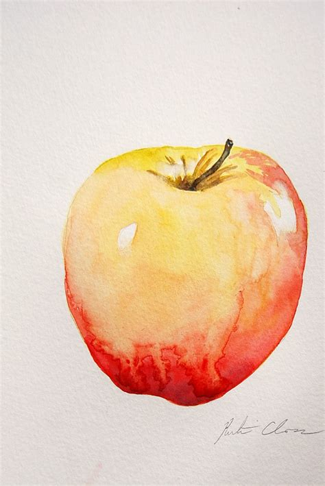 painting for mac watercolor painting apple still original small
