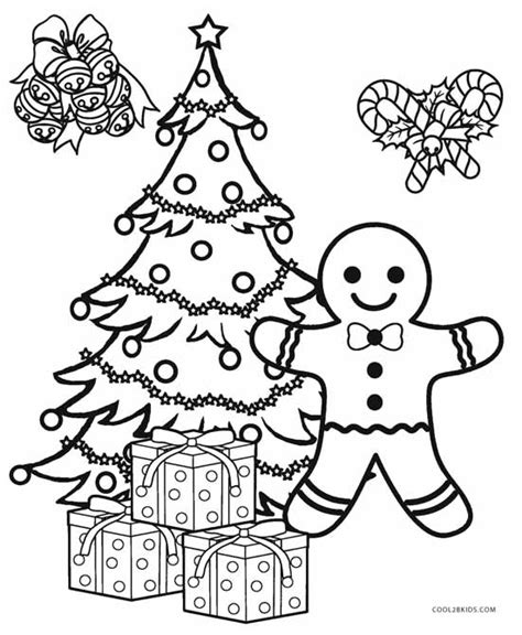christmas ornament tree to color printable tree coloring pages for cool2bkids