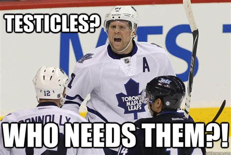 Phil Kessel Memes - testicles who needs them testicular cancer survivor