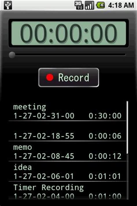 voice recorder android apps on google play