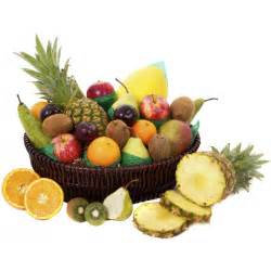 Fruit Basket by Summer Sunshine Fruit Basket From First 4 Hampers