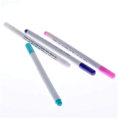 erasable fabric marker pens 4pcs tailor 180 s tack quilting and sewing supply