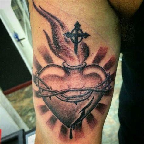 sacred heart tattoo tats pinterest de jesus y arte