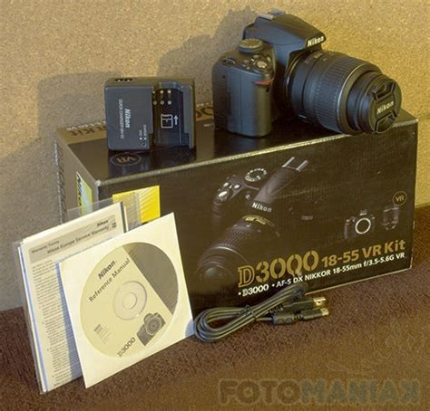 Kabel Model Ffc Af 18 55 nikon d3000 test fotomaniak pl