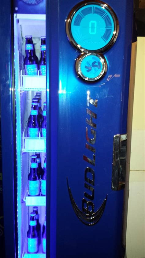 bud light beer cooler check out our sub zero bud light beer fridge it s pretty
