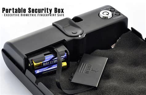 come aprire una cassetta di sicurezza senza chiavi cassaforte portatile acciaio biometrica impronte digitali