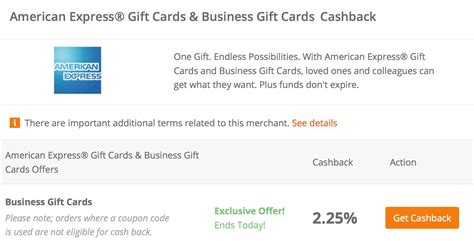 Topcashback Gift Cards - topcashback 2 25 cashback on business gift cards is back mightytravels