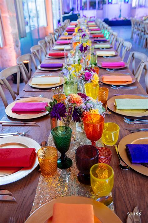 Bright Decorations by Best 25 Bright Color Wedding Ideas On Summer