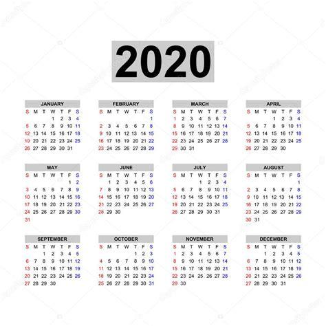modelo calendario  calendario design nas cores preto brancas feriados vetor de stock