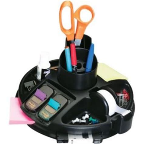 3m Desk Organizer All Your Stationery Supplies And Office Needs In One Place 3m Post It C91 Rotary Desktop