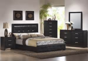 black and wood bedroom furniture raya pics solid