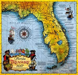 treasure maps florida treasure hunters