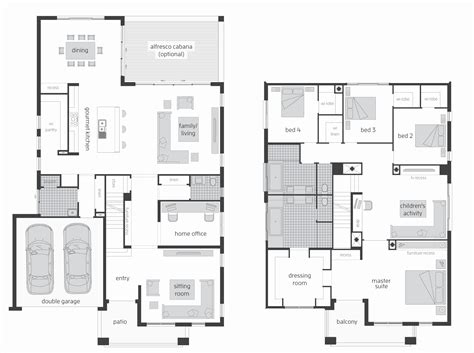 plan of two storey house beautiful 2 story house plans kitchen upstairs house plan