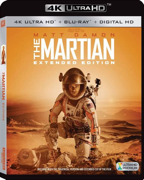 film blu ray 3d 4k the martian extended edition 4k blu ray