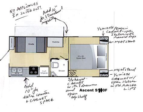 floor plans for rvs spree luxury lightweight travel trailer floorplans photos