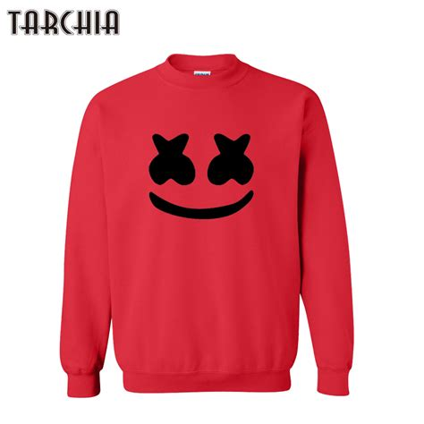 tarchia 2016 new fashion marshmello pullover hoodies sweatshirt personalized coat casual