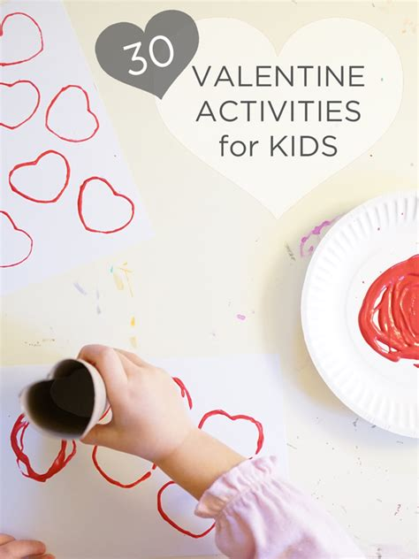 valentines activities for children 50 earth day activities for